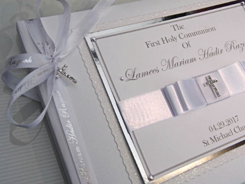 First Holy Communion Guest Books